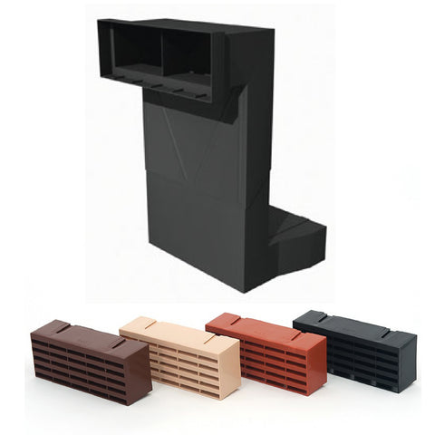 Telescopic Adjustable Underfloor Cavity Vent with Air Brick Ventilator Airbrick