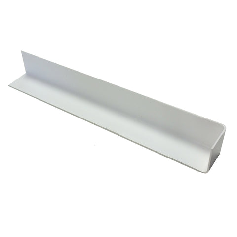 Fascia Board Corner Joints White Round Edge Profile / Size Options