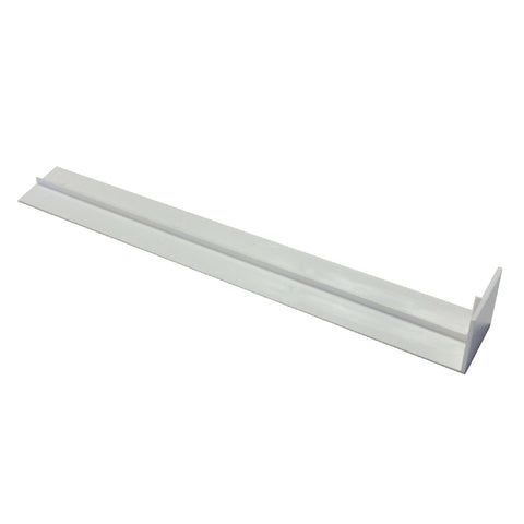 Fascia Board Straight Butt Joints White Square Edge Profile / Size Options
