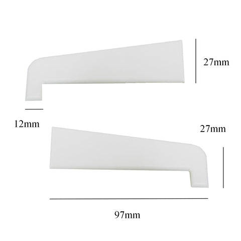 Pair of Upvc Window & Door Sill End Caps<br><br>