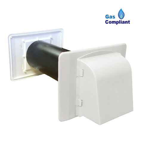 Cavity Core Vent & Cowl with Large Backplate for Gas Appliances