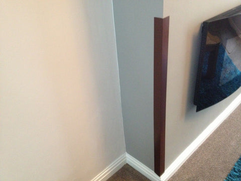 Brown Corner Wall Protectors <br> Menu Options