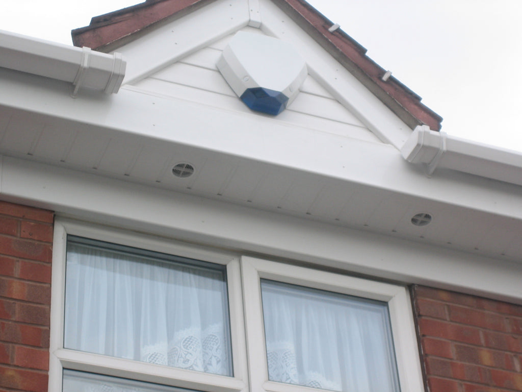 10 X White Start J Trim For Upvc Plastic Cladding Soffit
