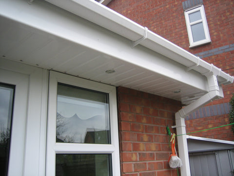 Upvc Plastic Soffit Board White Hollow Cladding Homesmart