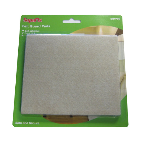 2 x Self Adhesive Felt Pads / Furniture Floor Protection<br><br>