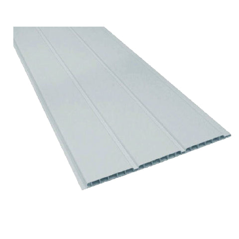 UPVC Plastic White Hollow Ceiling an Wall Cladding Pack Size Options