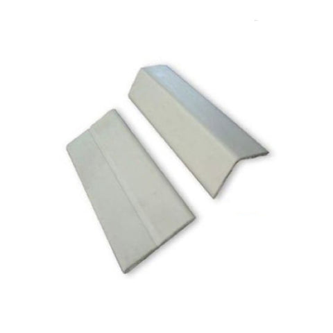 White Corner Wall Protector Plastic Flexi Angle <br>Menu Options