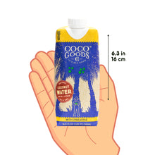 Load image into Gallery viewer, Natural Coconut Water with Freshly Squeezed Pineapple Juice 16.9 fl. oz, 12 Pack