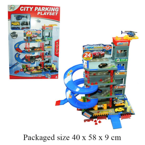 4 STOREY GARAGE WITH DC CARS