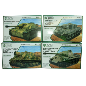 MODEL TANK KIT 124 4ASSTD