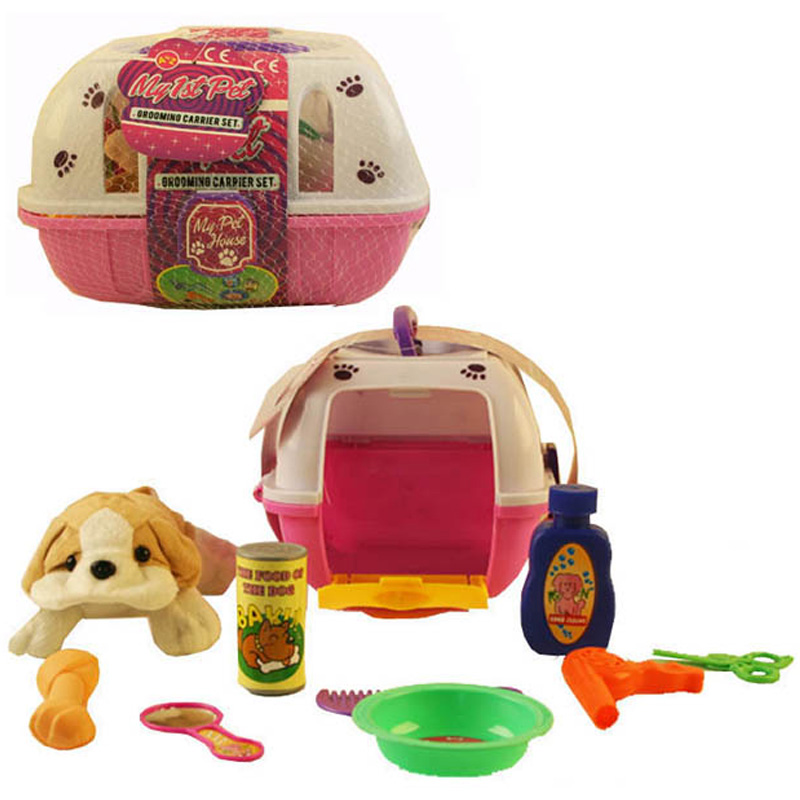 PET GROOMING CARRIER SET