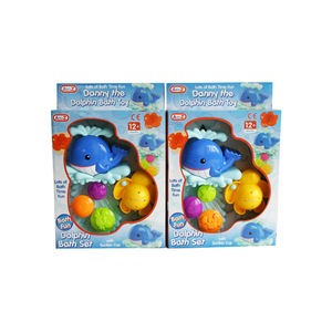 2 x DANNY THE DOLPHIN BATH TOY
