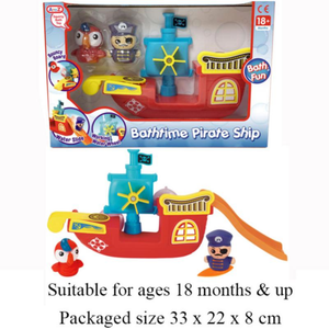 BATH BUDDIES PIRATE SHIP