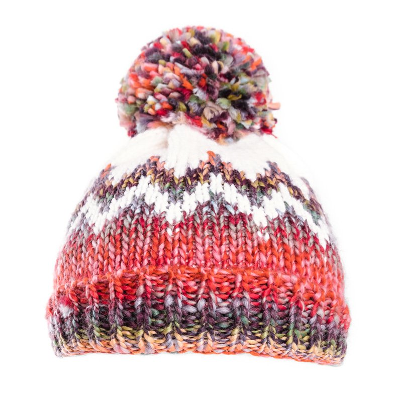 A1470- LADIES BOBBLE HAT