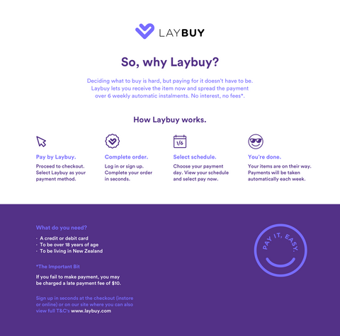 Checkout with Laybuy at Jack & Co Baby