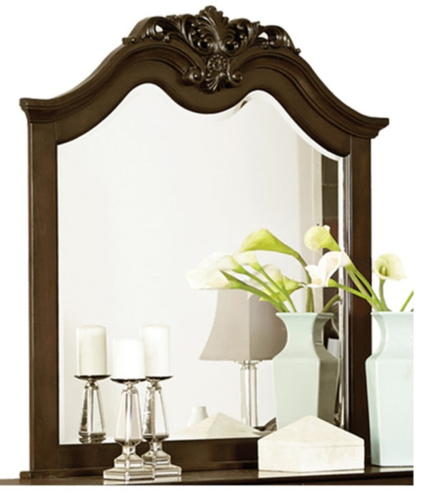 Homelegance Mont Belvieu Mirror in Dark Cherry 1869-6 image
