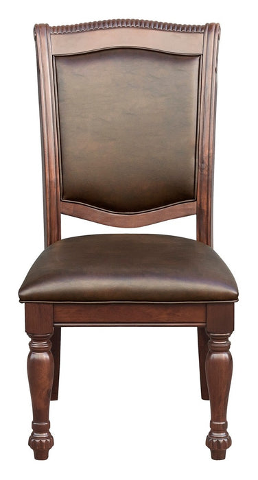 Homelegance Lordsburg Side Chair in Brown Cherry (Set of 2) image