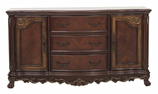Homelegance Deryn Park Buffet/Server in Dark Cherry 2243-55 image