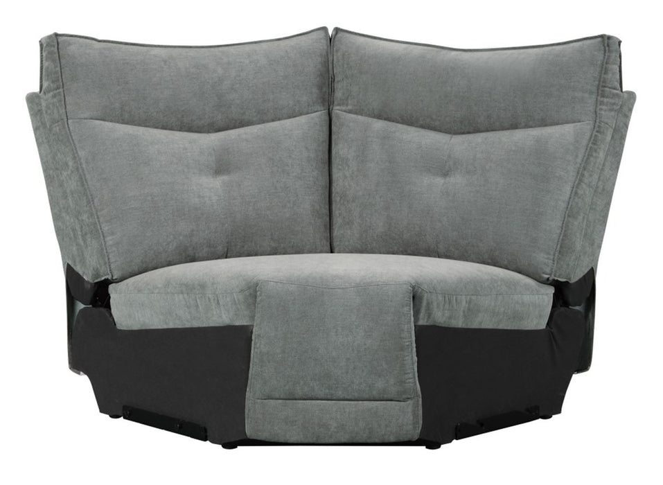 Homelegance Furniture Tesoro Corner Seat in Dark Gray 9509DG-CR image