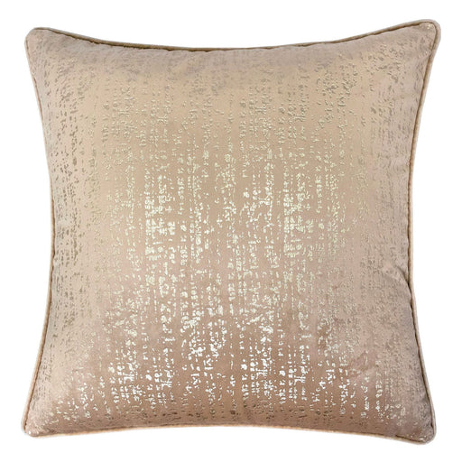 "Belle Beige 20"" X 20"" Pillow, Beige image"