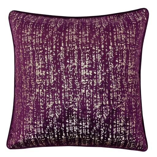 "Belle Purple 20"" X 20"" Pillow, Purple image"