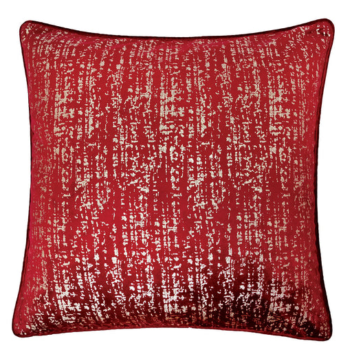 "Belle Red 20"" X 20"" Pillow, Red image"