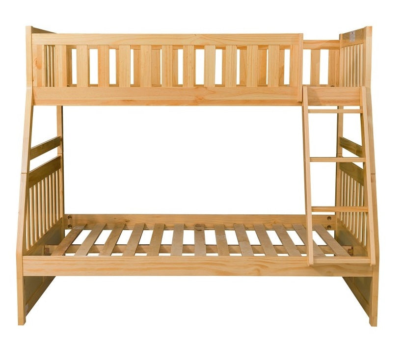 Homelegance Bartly Twin/Full Bunk Bed in Natural B2043TF-1* image