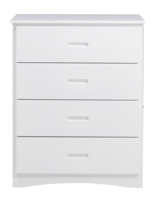 Homelegance Galen 4 Drawer Chest in White B2053W-9 image