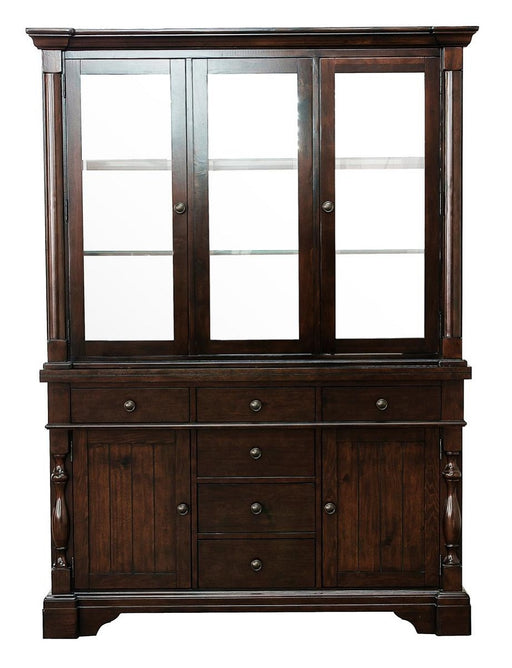 Homelegance Yates Buffet and Hutch in Dark Oak 5167-50* image