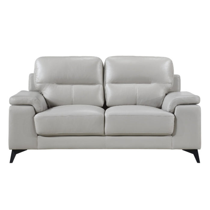 Homelegance Furniture Mischa Loveseat in Silver Gray 9514SVE-2 image