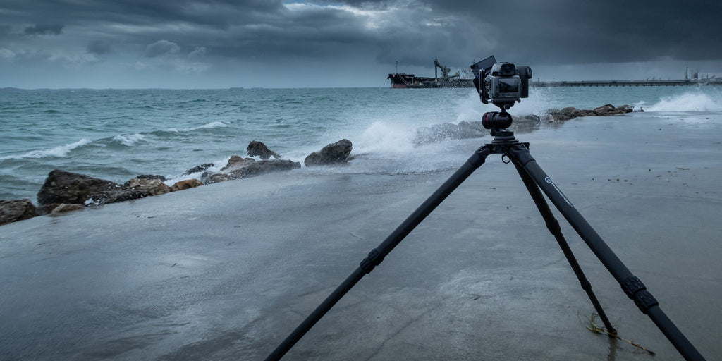 Shooting seascape with ProMediaGear