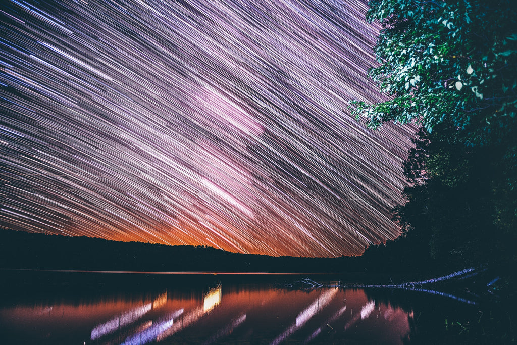 Star Trail at Night by Harrison Haines   Pexels