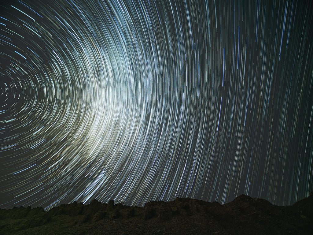 time lapse star trail photography by Xiaoyu Chen   Pexels