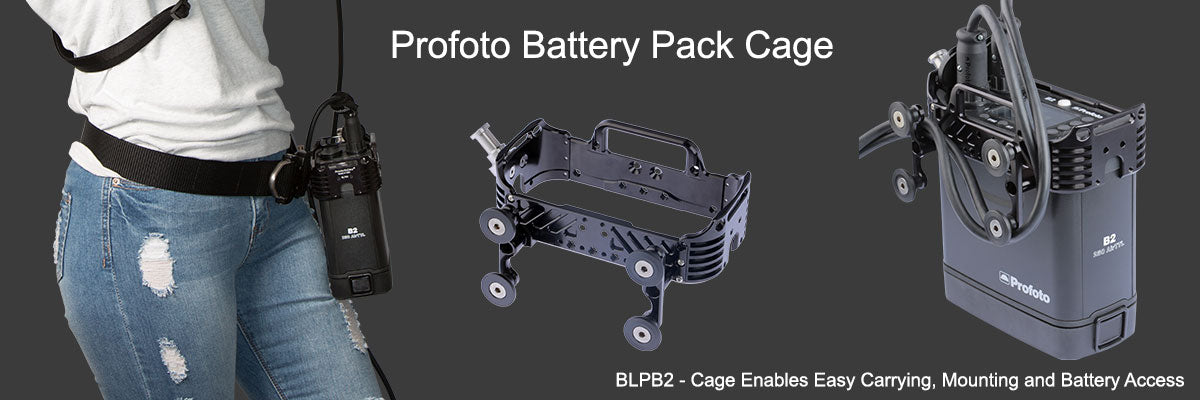 Profoto B2 Cage for Easy Battery Access