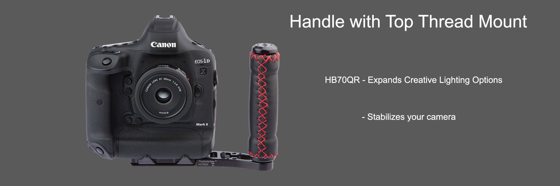 Accessory and Stabilizer Handle for DSLR