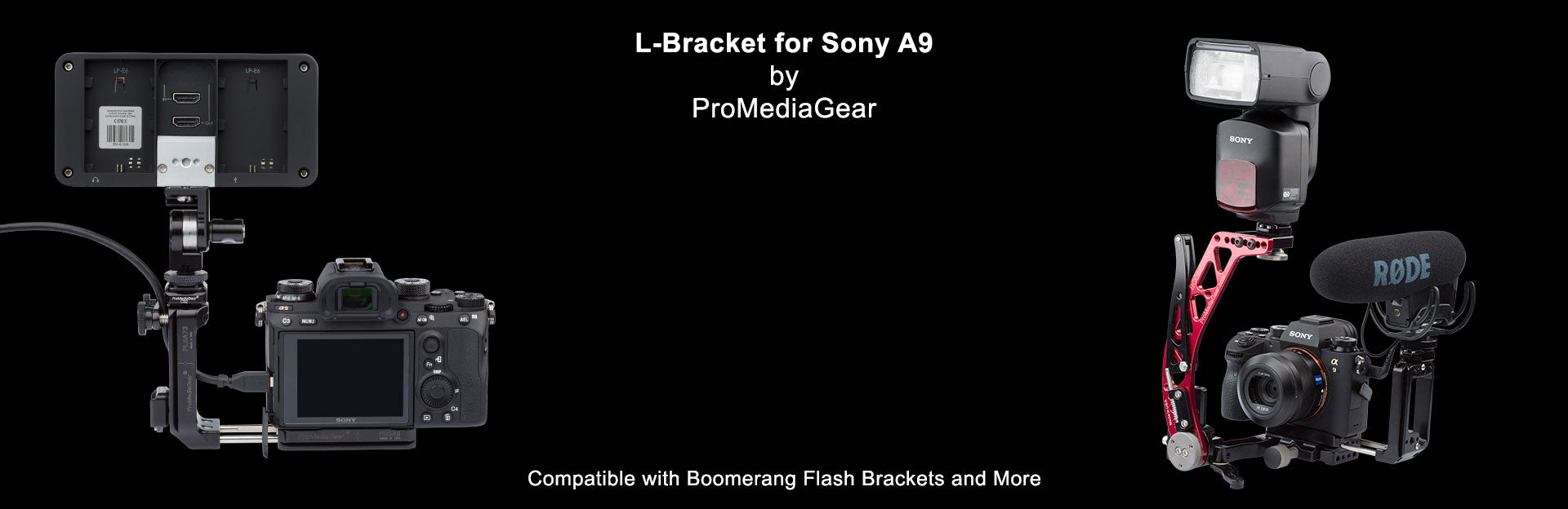 Ready for Anything attach Boomerang Flash Bracket and More