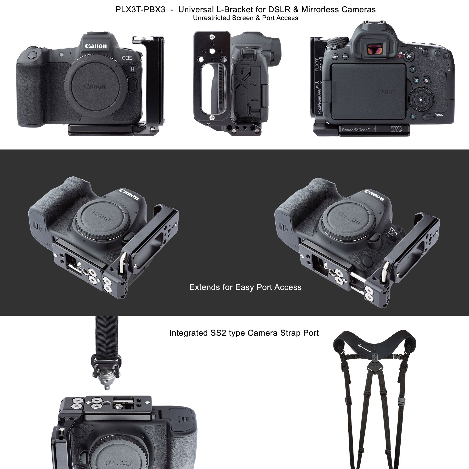L-Bracket Plate for Canon EOS-R