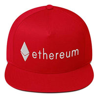 Ethereum ETH Logo Brand Embroidered Hat