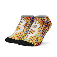 Bitcoin - BTC Athletic  Breathable Compression Sock for Men