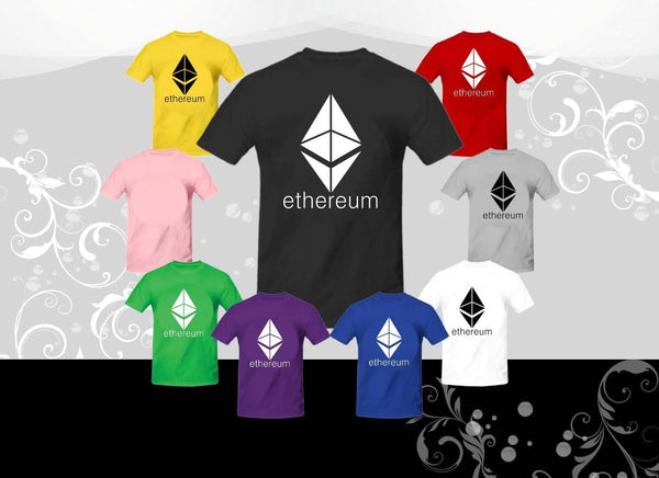 Ethereum shirt, Cryptocurrency, Eth logo T-Shirt