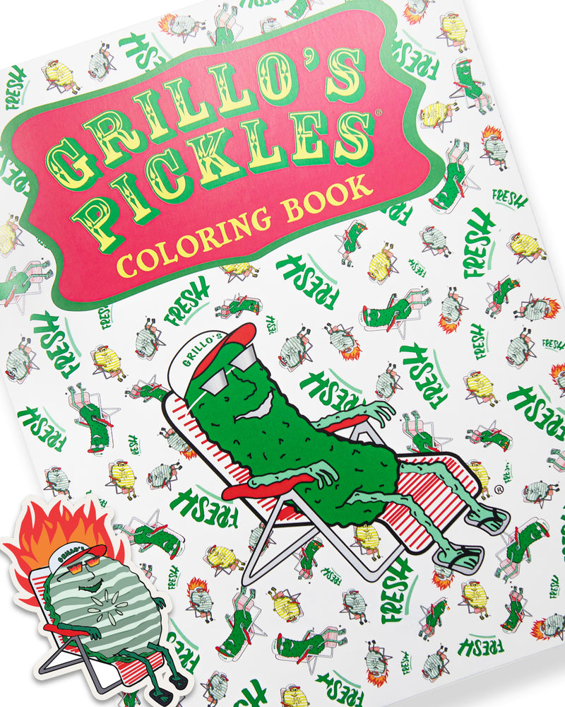 Grillo's Coloring Book – VOL 1