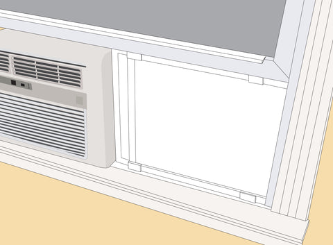 Easy A-C Screen Installation Option One