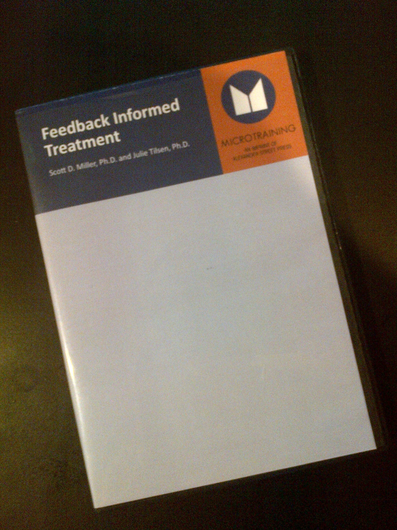 Feedback Informed Treatment, Individual Edition