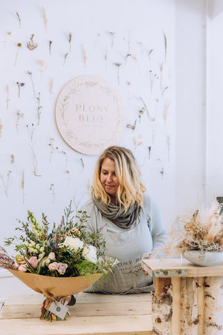 Peony Blue Bournemouth Florist Shop selling gift bouquets