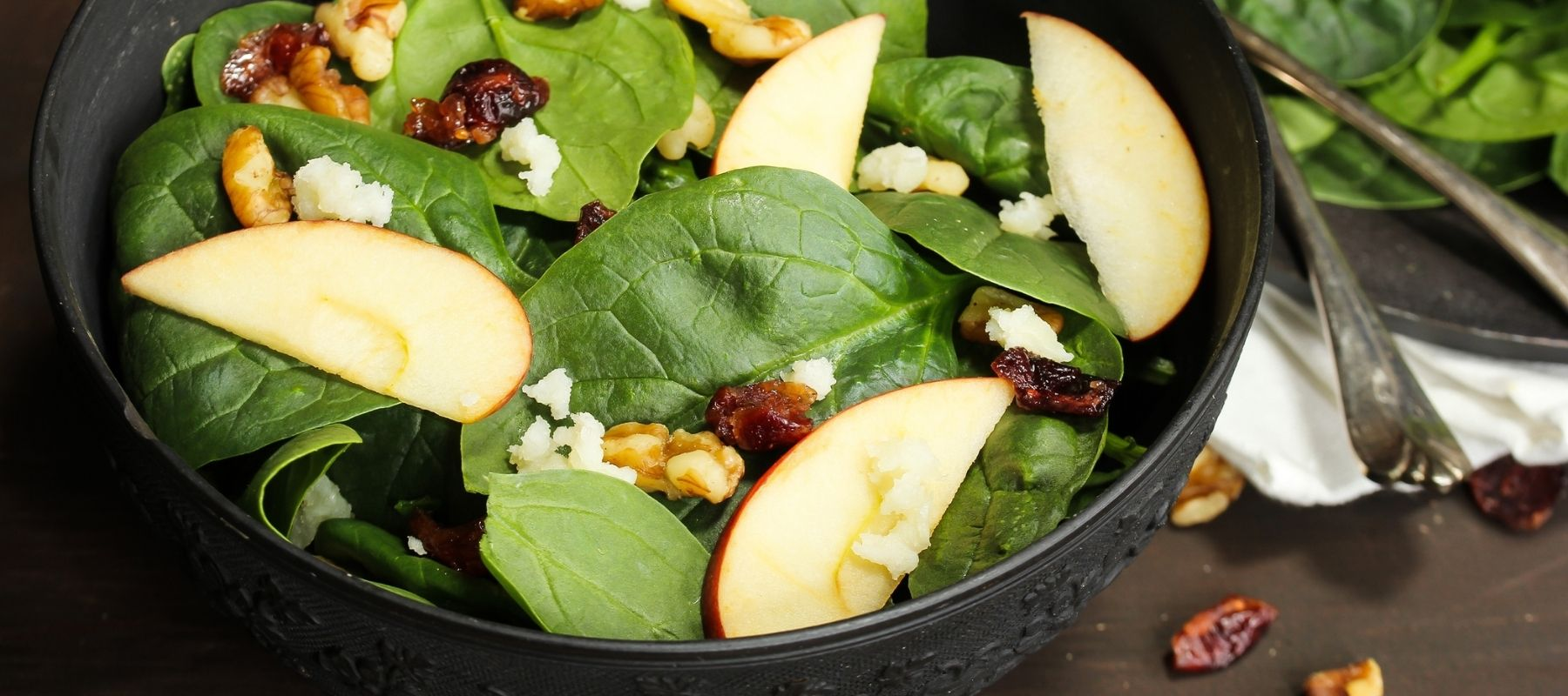 Anna's Honey Apple Salad Made with natural Honey and Apple Slices