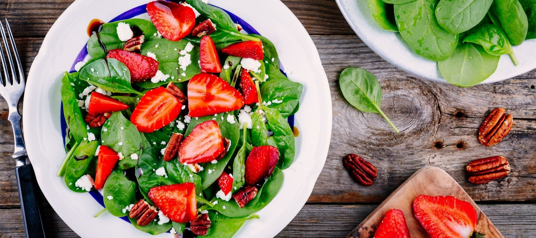 Anna's Honey Strawberry Salad Made with Real Strawberries and Honey