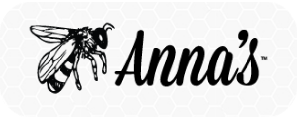 Anna's Honey Honeycomb Logo