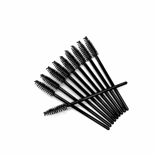 "Disposable Mascara Wands - 4"" Large Tapered Head"