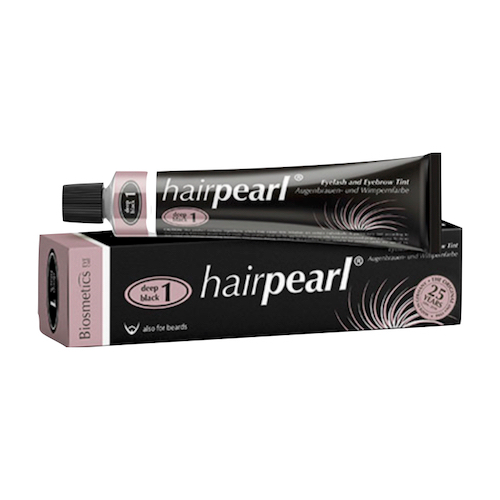 Hairpearl Eyelash & Eyebrow Tint - Deep Black