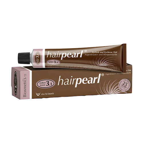 Hairpearl Eyelash & Eyebrow Tint - Middle Brown
